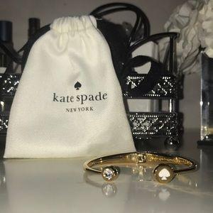Kate Spade - gold spade cuff